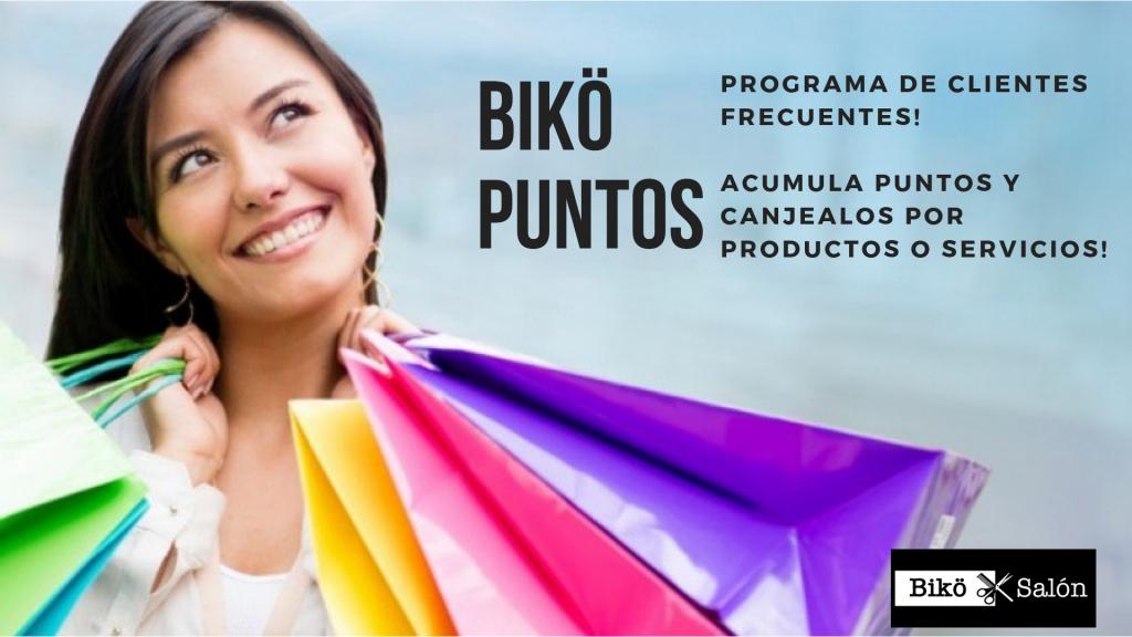 Biko Salon Alajuela Programa de Puntos