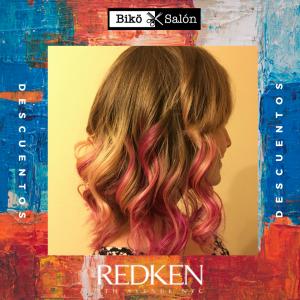 Biko Salon Redken fantasia rosado
