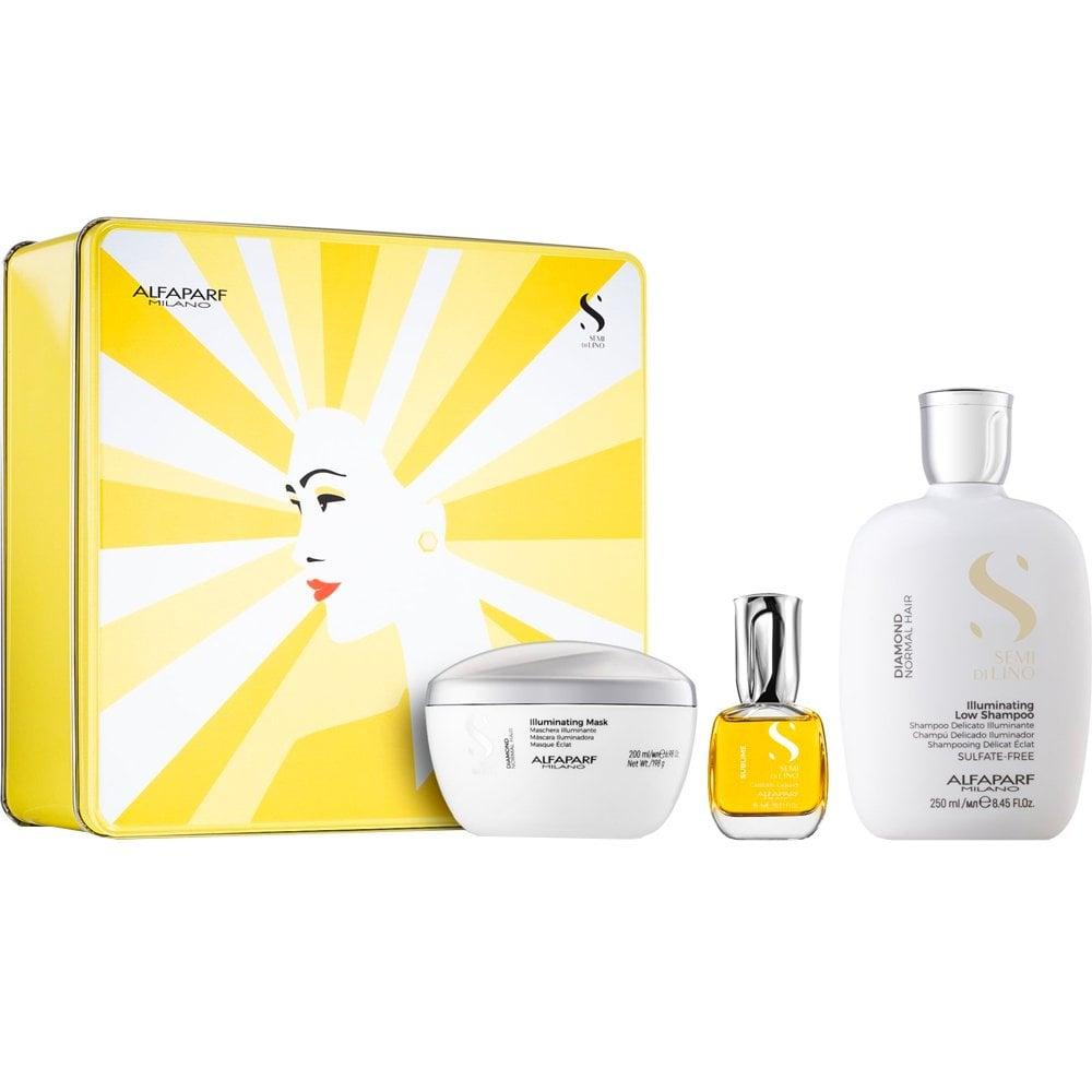 Gift Box Illuminating Semi Di Lino